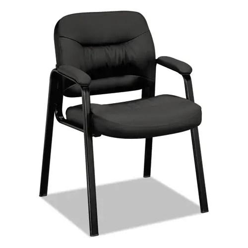 VL640 Series Leather Guest Leg Base Chair