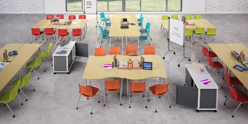 configurable classroom tables
