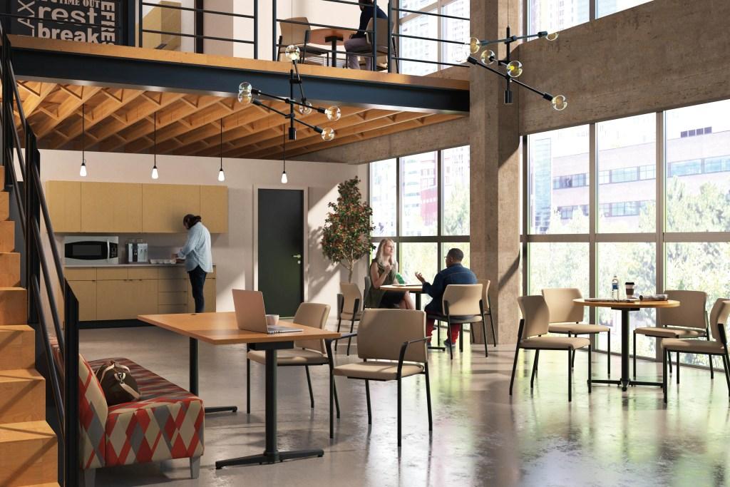 loft office style