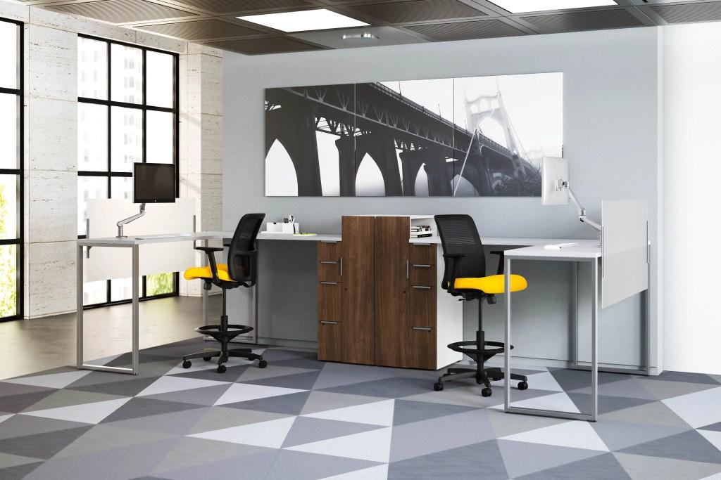 open work space office