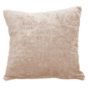 beige cream chenille scatter cushion