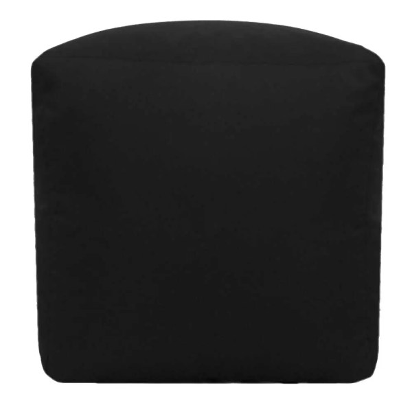 black water resistant cubes footstools