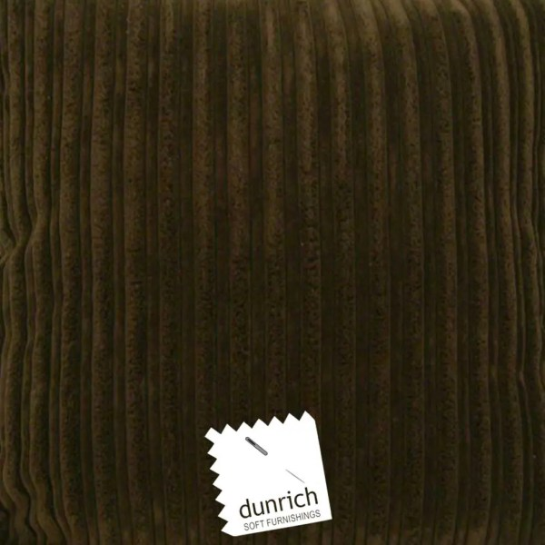 brown chunky cord cut fabric to order