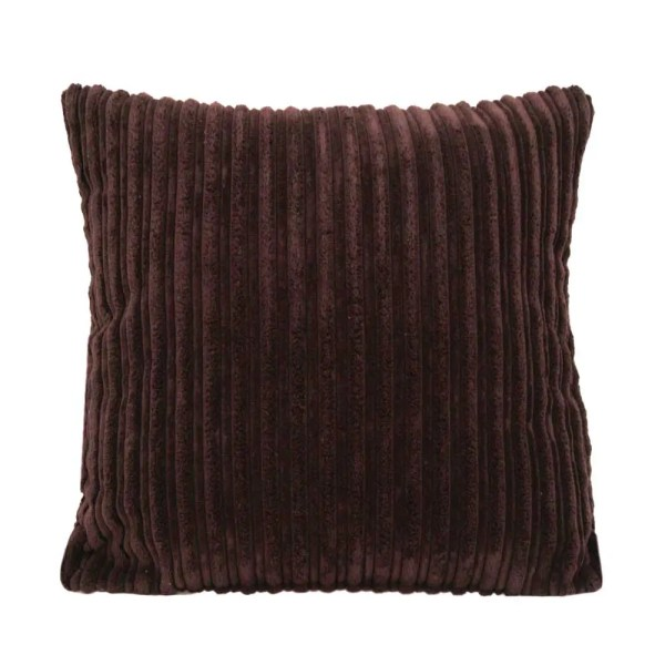brown chunky cord scatter cushions covers