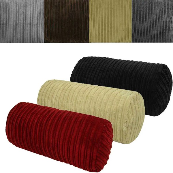 chunky cord cylinder bolster cushions