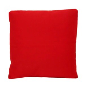 cotton drill cushion cushioncover red