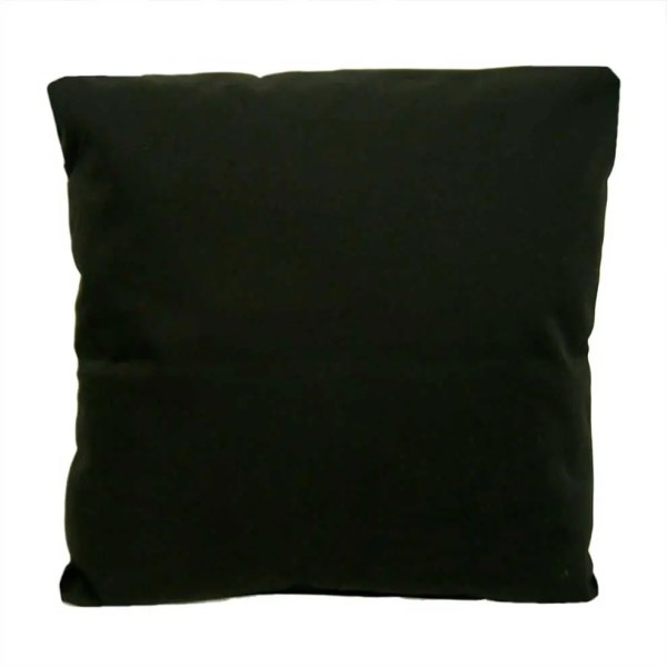 cotton drill scatter cushion cushion cover black