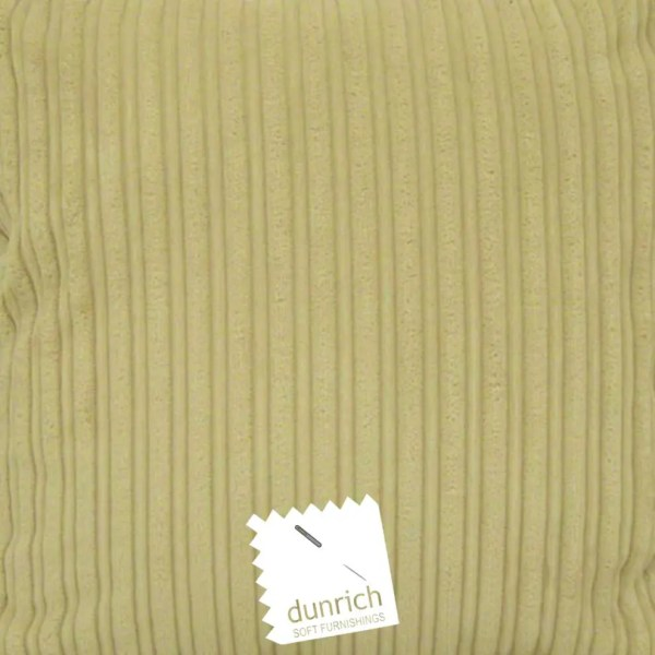 cream chunky cord cut fabric to order