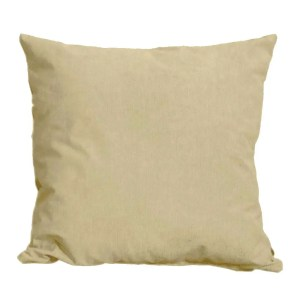 cream suede feel scatter cushion