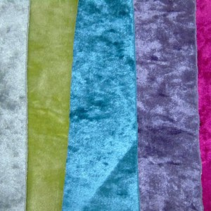 crushed velvet fabric to order all colours