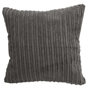 dark grey chunky cord scatter cushions covers