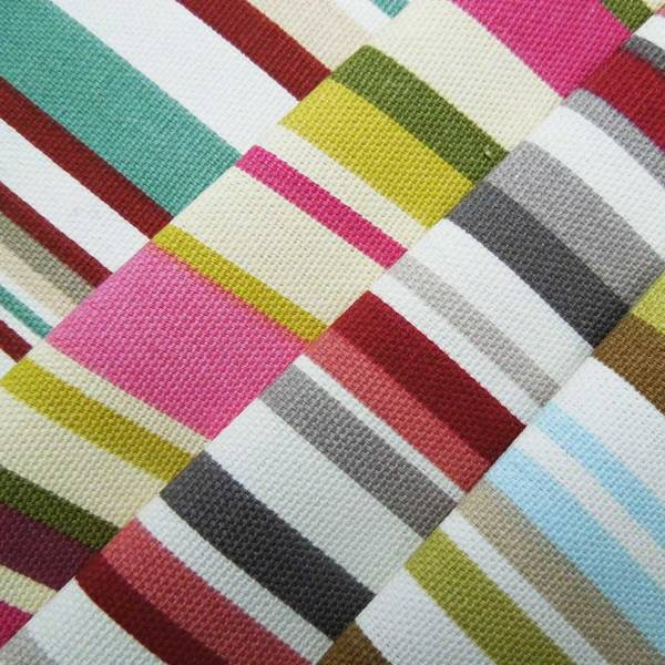 goa striped cotton cut fabric