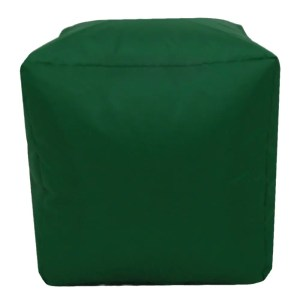 green water resistant cubes footstools