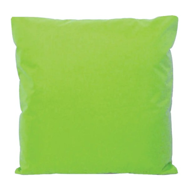 lime green water resistant indoor outdoor scatter cushion