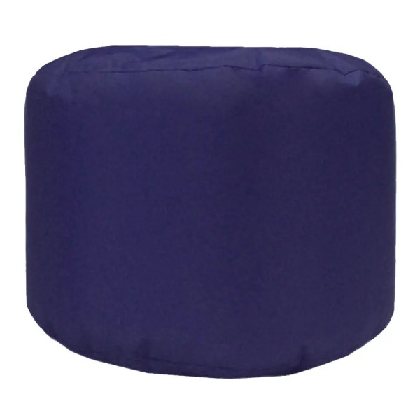 mauve water resistant outdoor footstool pouffe