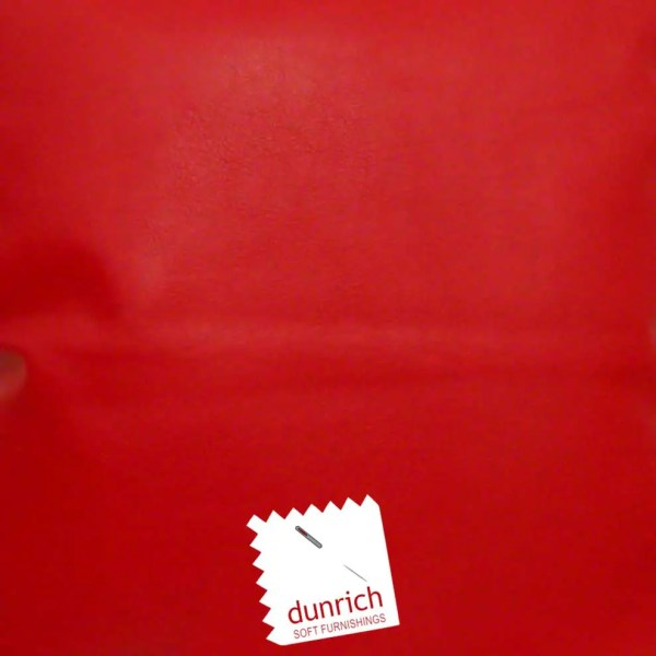 red faux leather fabric to order
