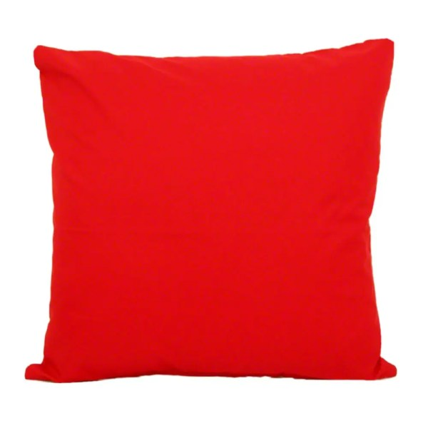 red water resistant indoor outdoor scatter cushion