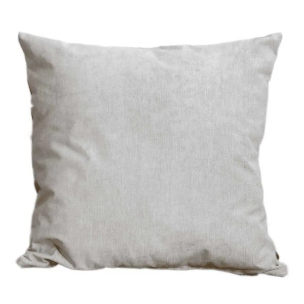 silver suede feel scatter cushion