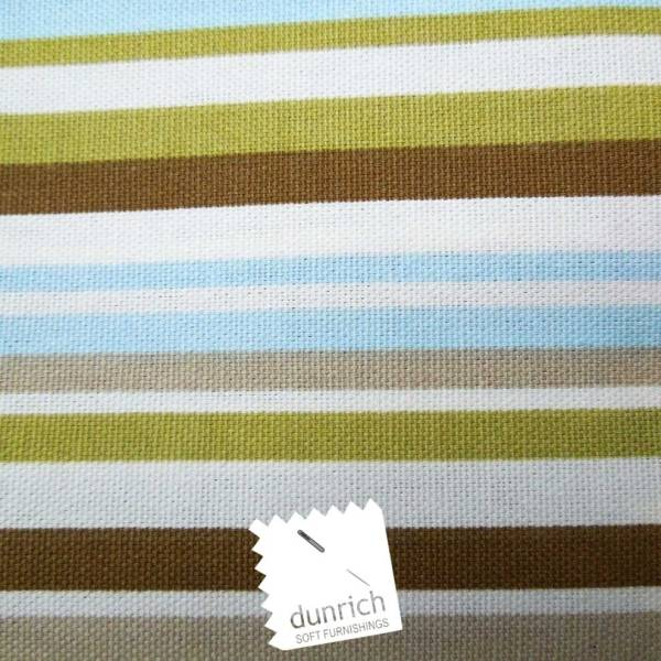sky blue goa striped cotton fabric