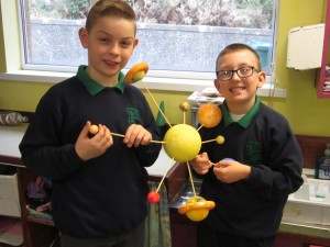 p5 making a solar system model