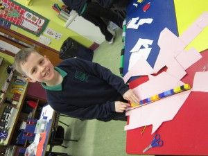 making a rocket which is 23 cubes long