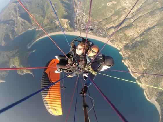 Fethiye yamaç paraşütü