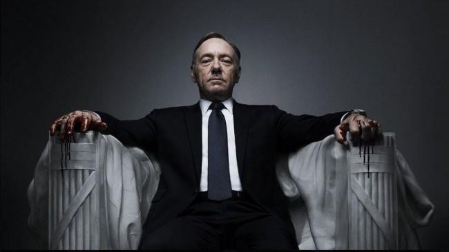 Netflix'in kendine özel dizileri arasında en popülerlerinden biri House of Cards.
