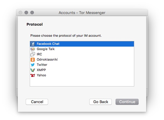 TOR Messenger ile birçok farklı uygulamadaki hesabınızı sansür ve takipten kurtularak kullanabiliyorsunuz.