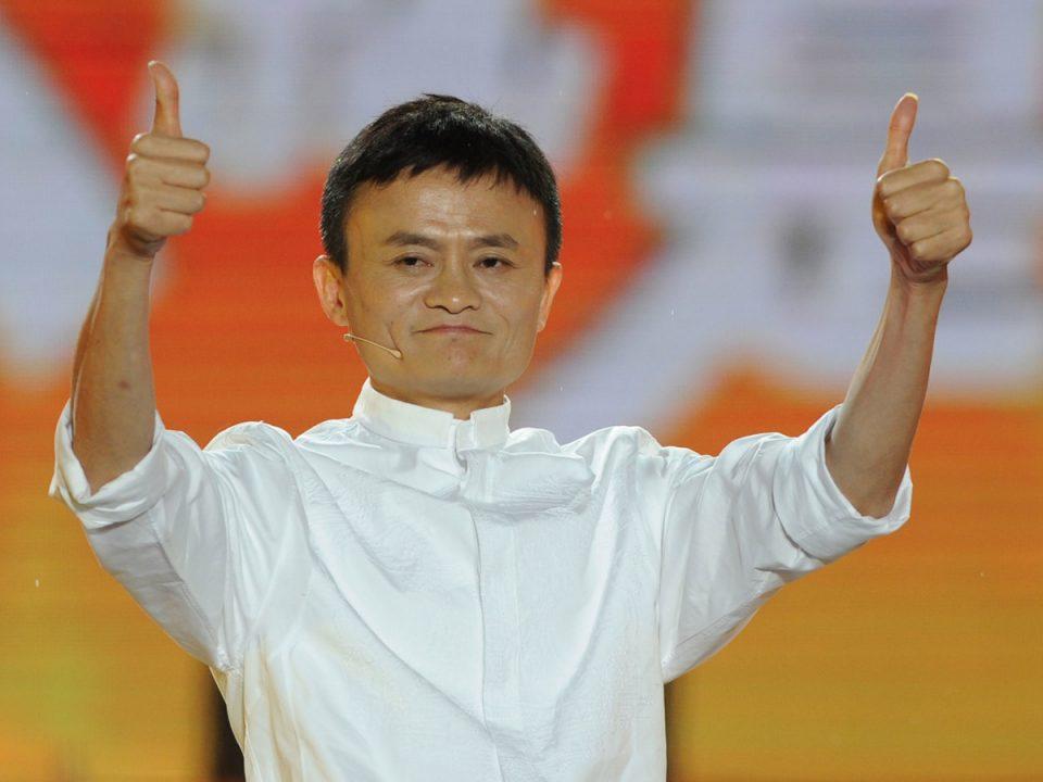 Alibaba'nın Kurucusu (İngilizce Öğretmeni) Jack-Ma.