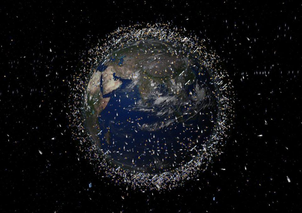 Alt eşzamanlı yörüngede izlenebilir nesneler illüstrasyon: ESA