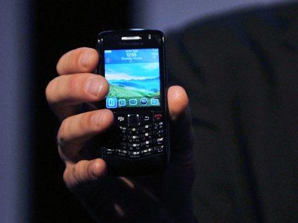 Pearl - Blackberry'nin ilk kameralı telefonu