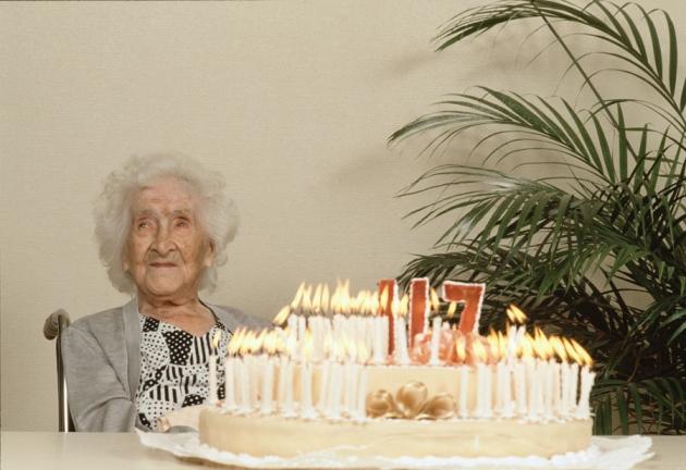 1997 yılında 122 yaşındayken hayata veda eden Jeanne Calment'ten fazla yaşamanız pek olası değil.
