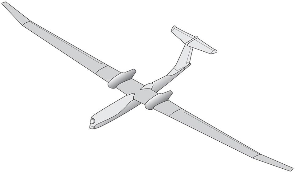 BMD tasarımı için hazırlanmış bir çizim