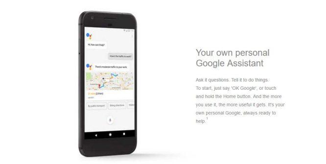 Pixel, sesli asistan uygulaması ile isteklerinize yanıt verebilecek.