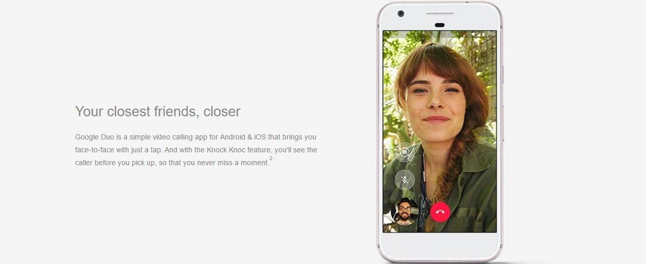 Google Duo ile görüntülü konuşma