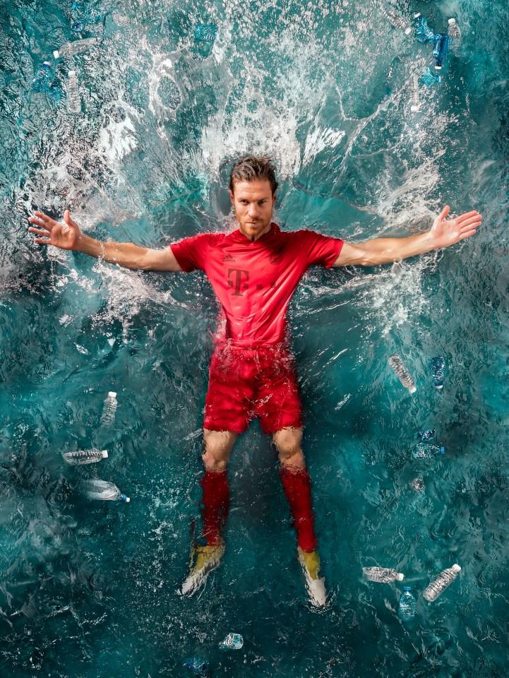 Bayern München oyuncusu Xabi Alonso