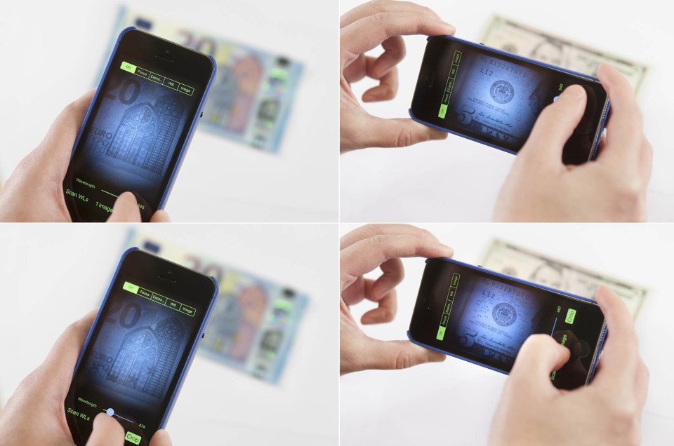 hyperspektrinen iPhone