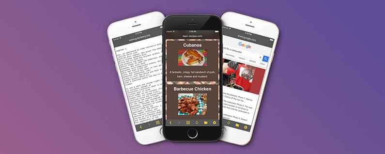 Yemek tarifinizi, kitabınızı, kılavuz videoları eller serbest modda yönetin.