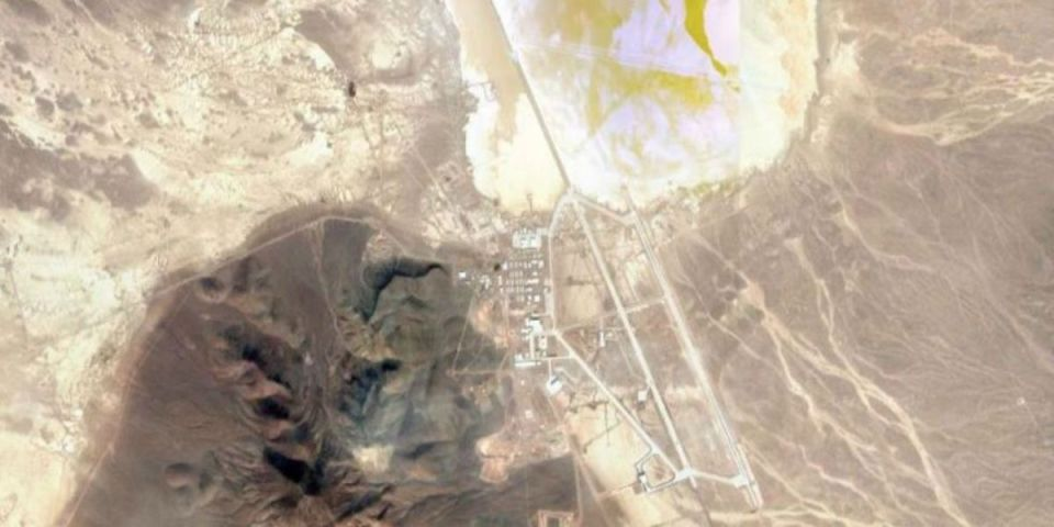 51. Bölge'nin uydu görüntüsü