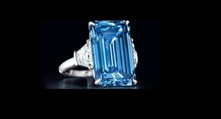 Oppenheimer Blue (Oppenheimer Mavisi): Mayıs 2016'da 50 milyon Dolar'a satıldı.
