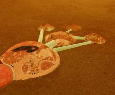 Ekibin bir yıl boyunca yaşayabileceği bir Mars simülasyon alanı da olacak.