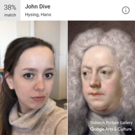 """Sosyal medya editörü Kayla Keegan, Hans Hysing'in """"John Dive"""" portresine benzemesinin nasıl hissettirdiğini tam bilmiyor."""