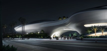 Lucas_Museum_of_Narrative_Art_-_Night_View_courtesy_of_MAD_Architects