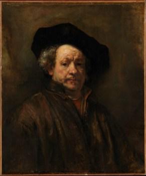 Rembrandt'ın self portresi