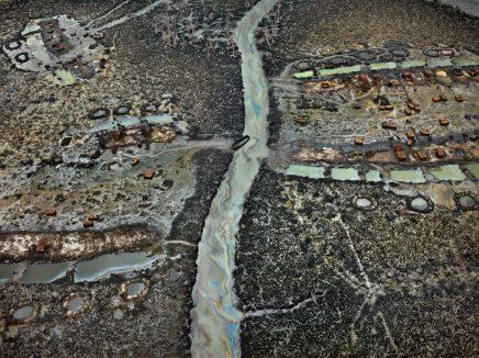 Nijerya'dan bir başka petrol hırsızlığı manzarası