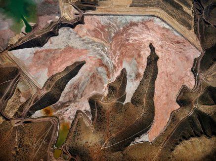 Morenci Madeni'nin tepeden görünümü