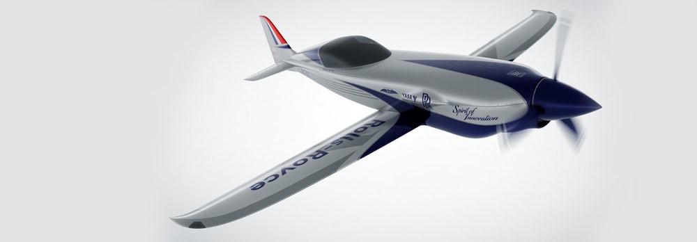 Rolls-Royce, dünyanın en hızlı elektrikli uçağı için çalışıyor