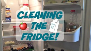 how to clean fridge