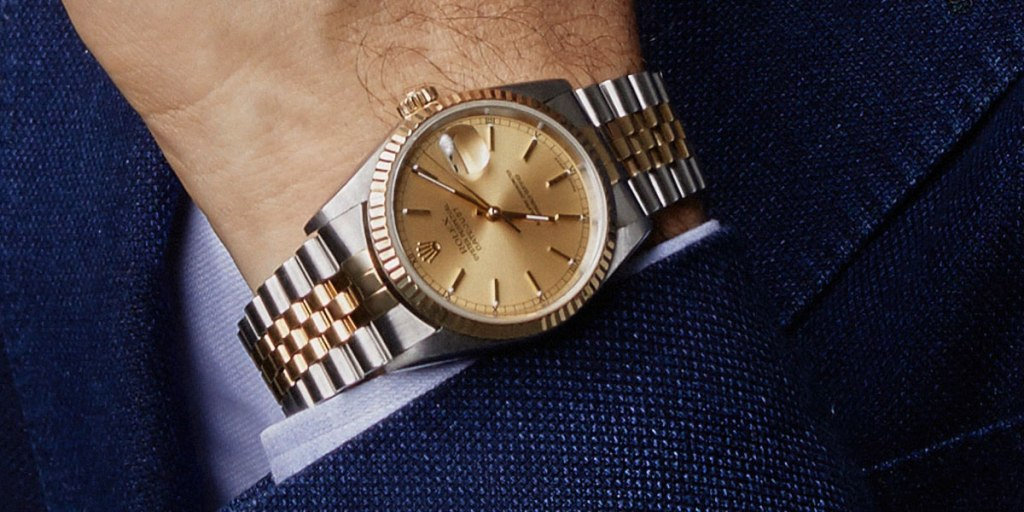 Design of Traditional Smartwatches Rolex