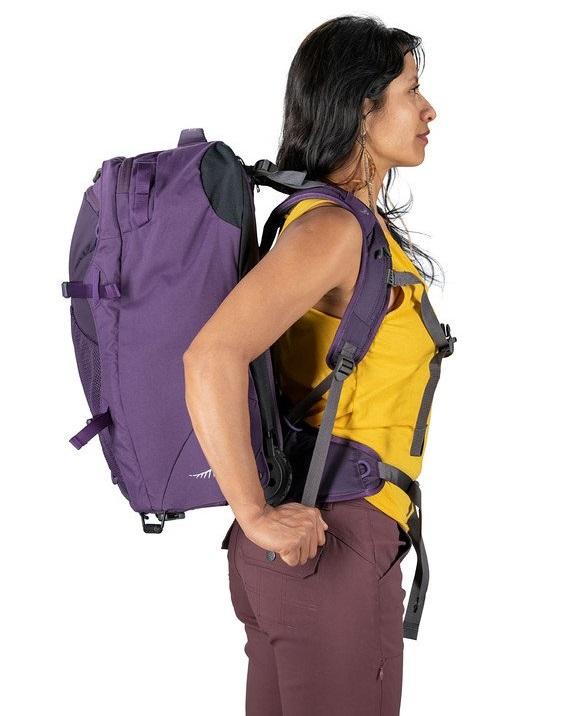 advantages disadvantages of wheeled backpacks